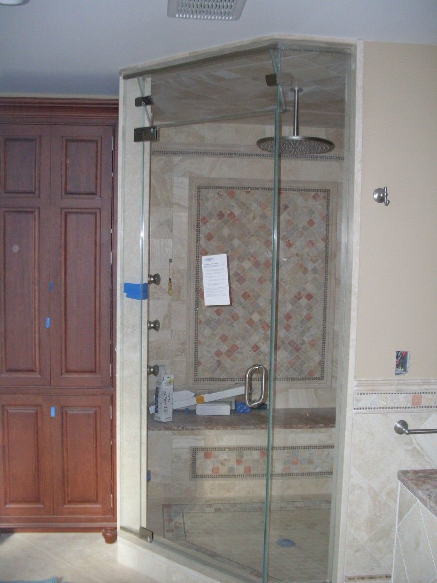 How To Build A Steam Shower Master Bath Remodel Steam Shower