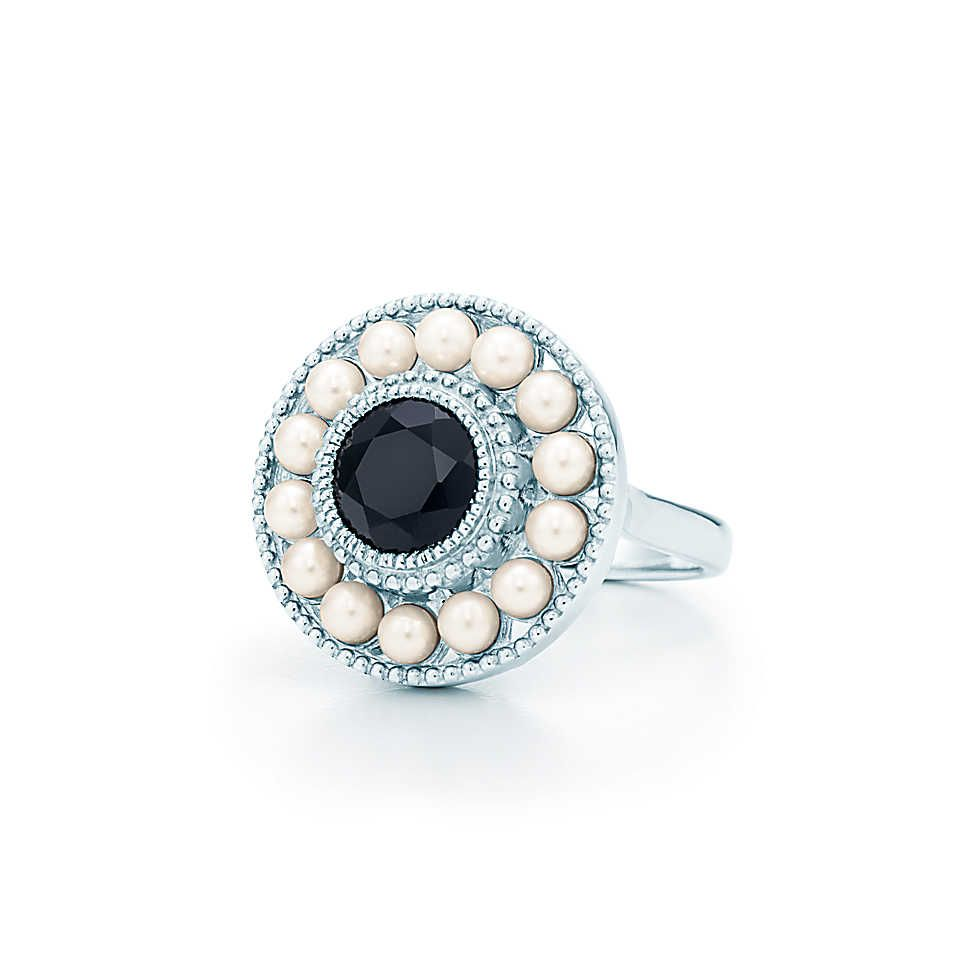 0ba83c2eaa03c Ziegfeld Collection:Pearl Ring | 'Tis The Season for Tiffany ...