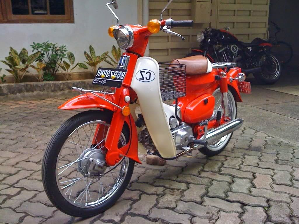 Cara Modifikasi Motor Honda 70 4 Honda Cub Pinterest Honda And