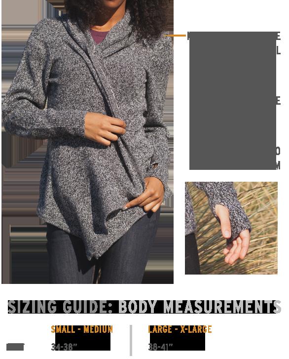 Black Sheep Wrap Sweater | Wool sweaters womens, Wrap