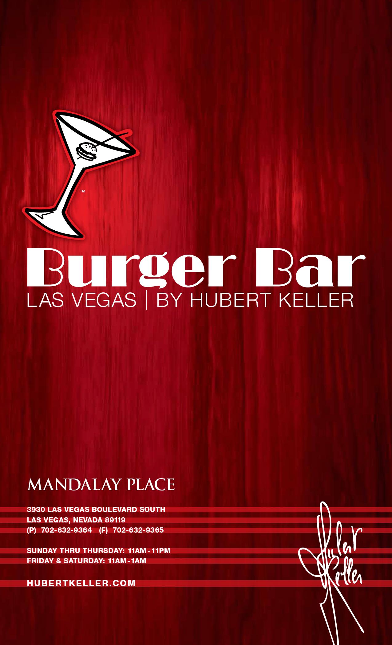 Mandalay Bay Two Bedroom Suite Menu Burger Barrestaurantmandalay Bay Vegas With A 5 Year Old
