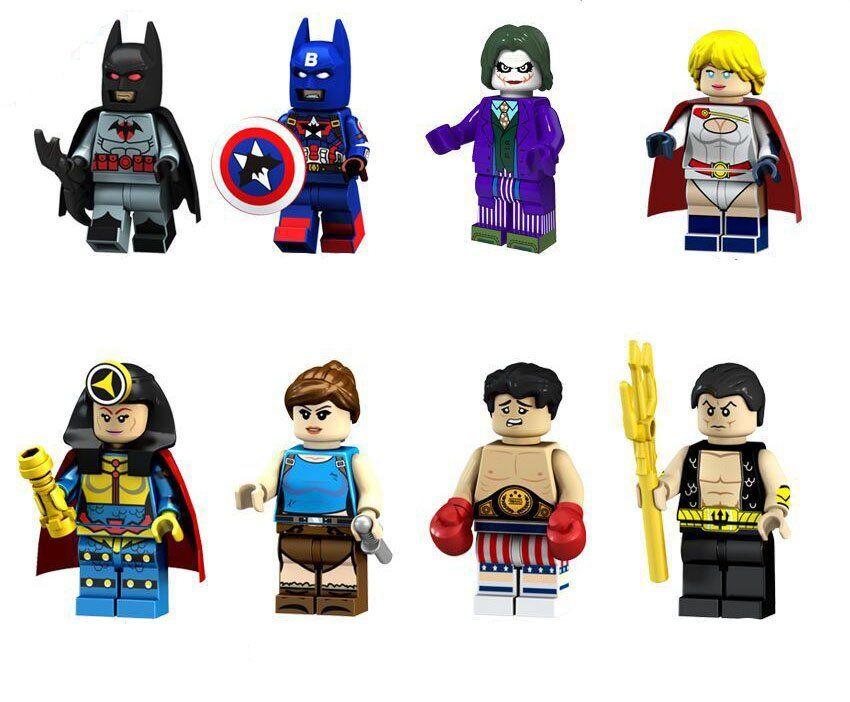 Batman Pirate minifigure action movie DC Comic toy figure