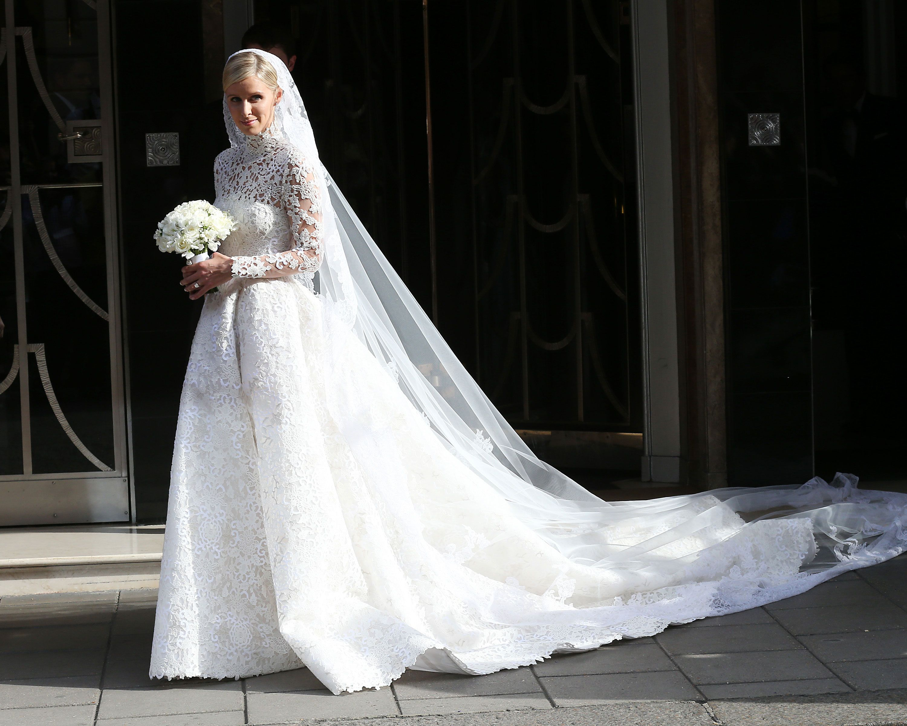 Here Are Some Celebrities Wearing Wedding Dresses   Nicky ...