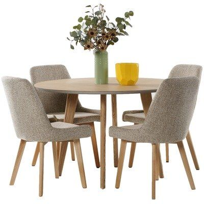 4 Seater Alexandria Dining Table  Chair Set in 2018 sweet home