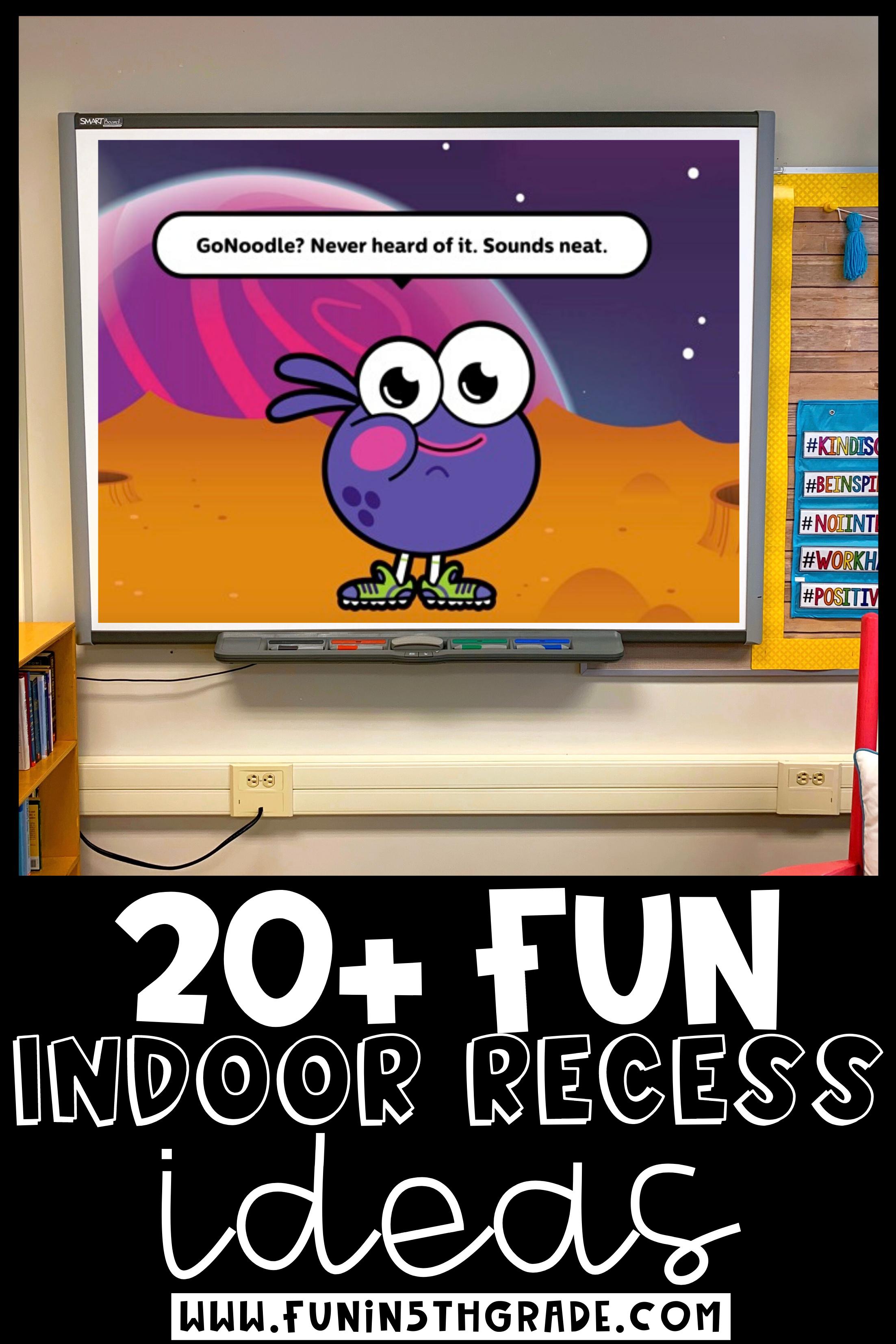 Indoor Recess 20+ FUN Ideas to Save Your Sanity Indoor