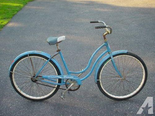 1960 S Vintage Schwinn Tornado Womens Bicycle Bicycle Women