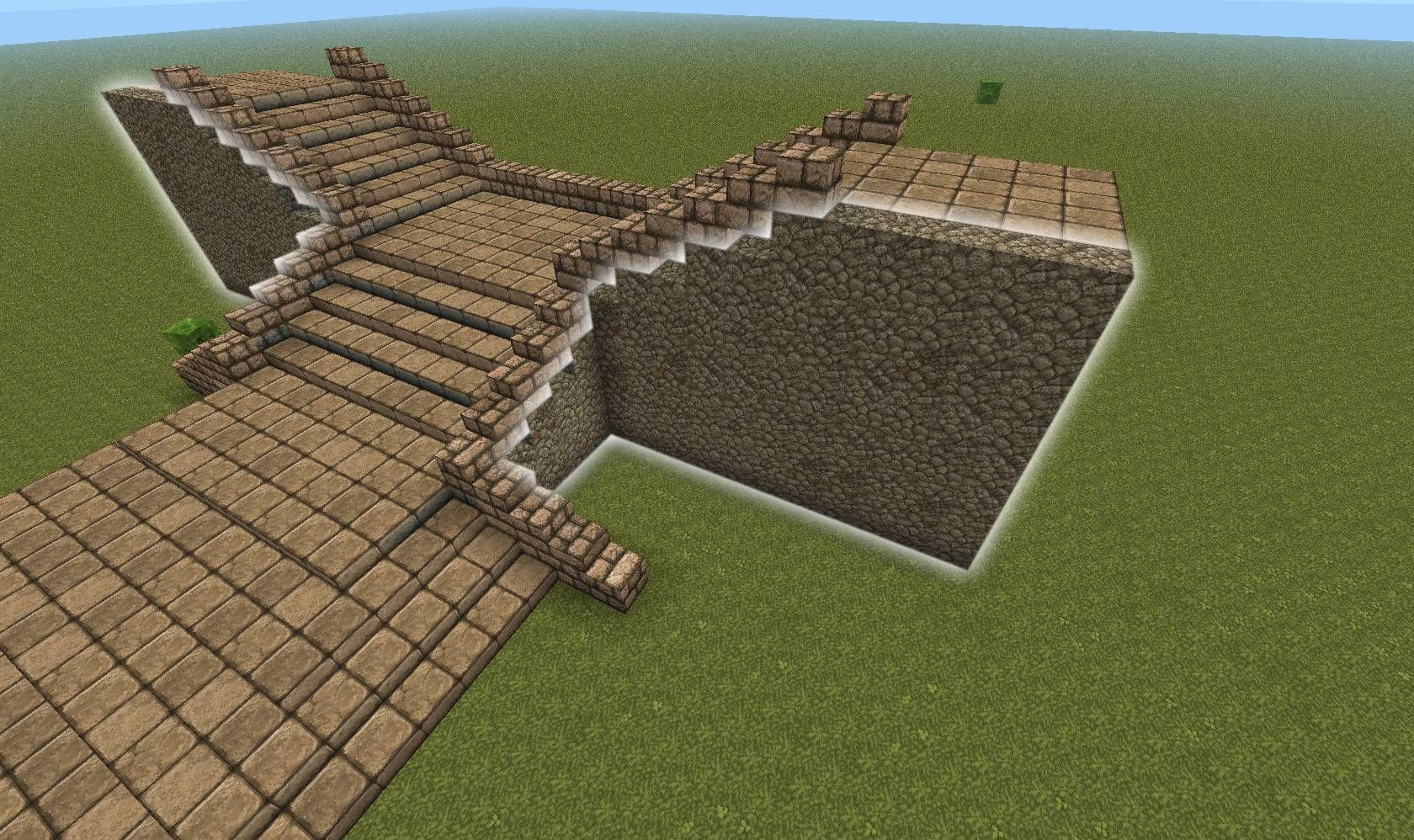 How To Make A Grand Entry Minecraft Minecraft Blueprints