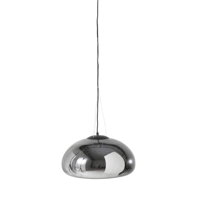 Suspension en verre argenté | Glass, Glass pendants, Ceiling ...