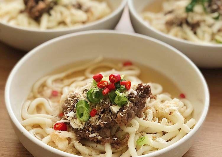 Ide Resep Homemade Marugame Udon Di Kuah Shoyu Resep