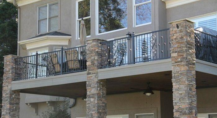 Home Improvement Interior Design And Decoration Modern Homes Wrought Iron Balcony Railing Designs Ideas