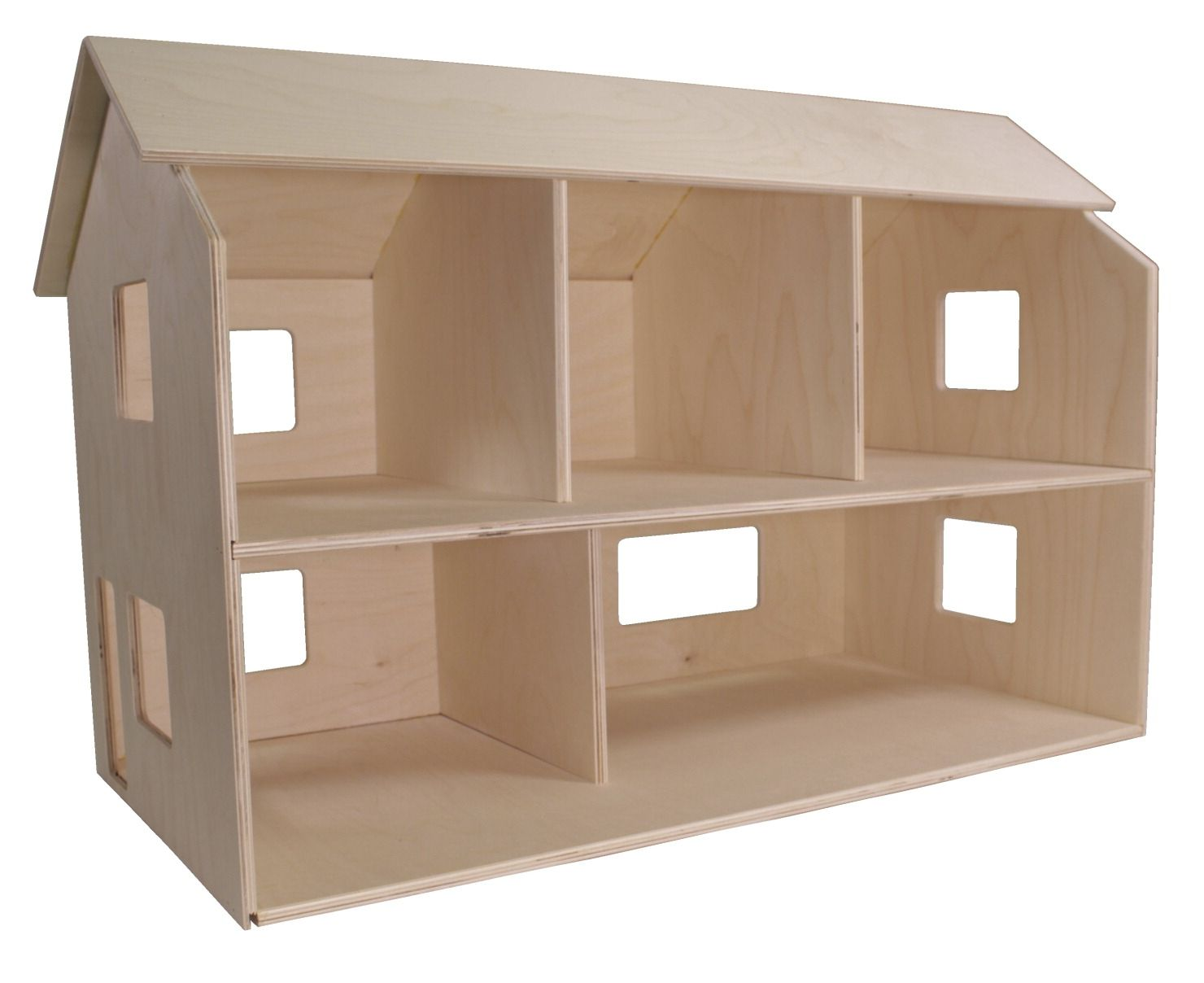 Childcraft Classic Dollhouse Unfinished 29 3 4 X 15 1 2 X 19 1 2