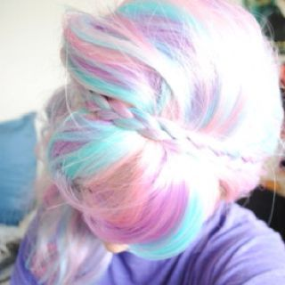 unicorn hair!