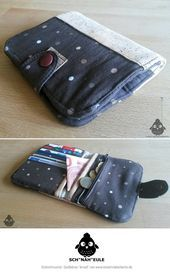 """Photo of Wallet # """"Arved"""" #from #Sch """"sewing"""" owl: # www.kreativlaborb …"""