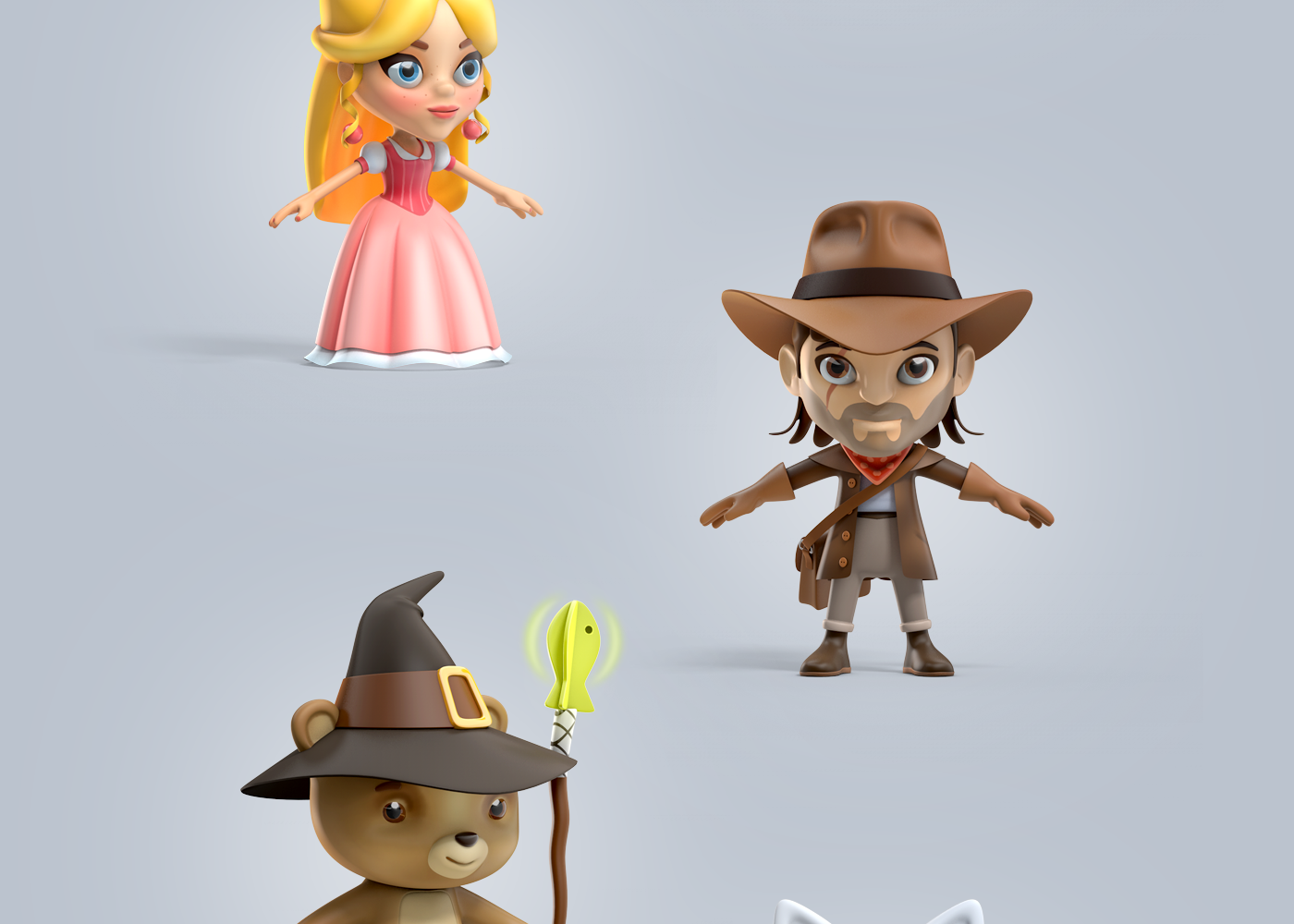 Rookie - Character design on Behance