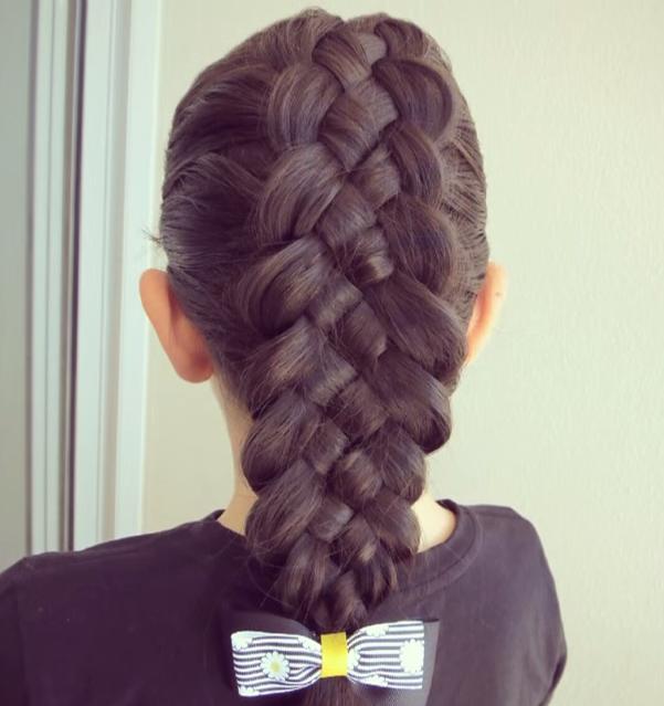 ideas de peinados con trenzas para nias me lo dijo lola