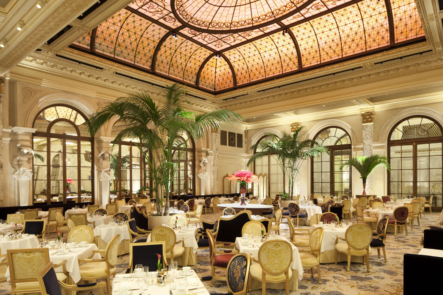 Have High Tea In The Palm Court @ The Plaza.
