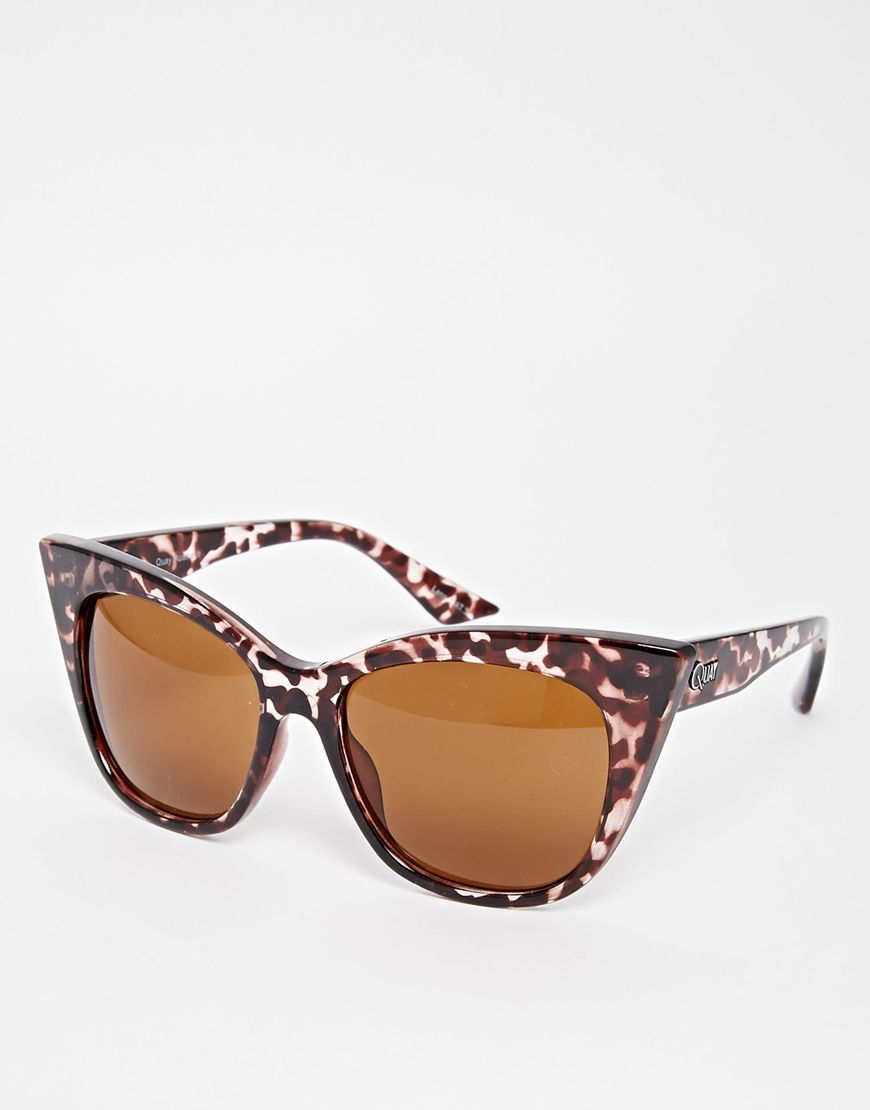 Image 1 of quay australia modern love cat eye sunglasses