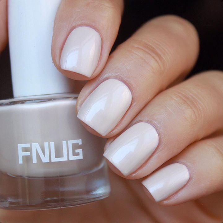 The 35 Prettiest Wedding Nail Colors - love this ivory nail color ...