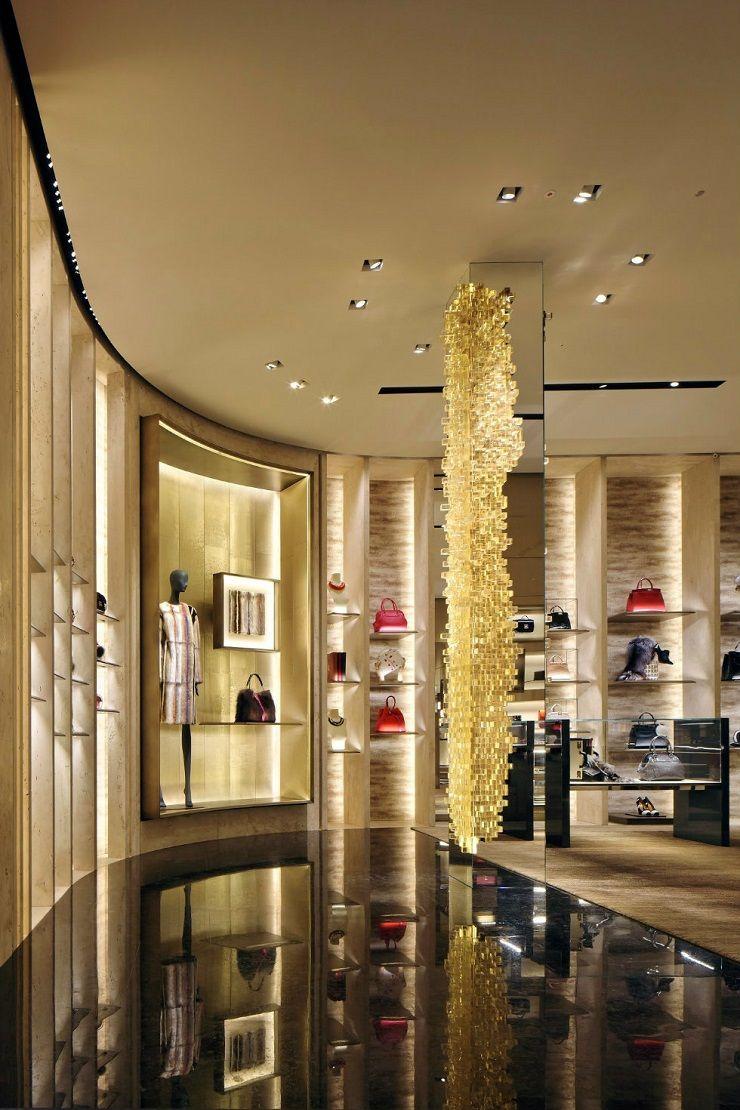 Boutique di lusso a milano la guida per la ragazza fendi for Store design milano