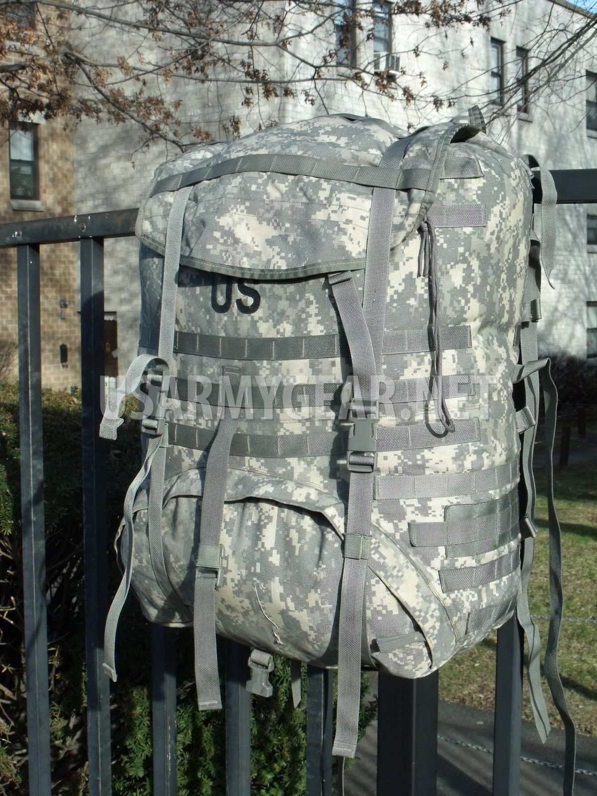 Made in USA US ARMY MOLLE II ACU Rucksack, Backpack, Main Bag (No ...