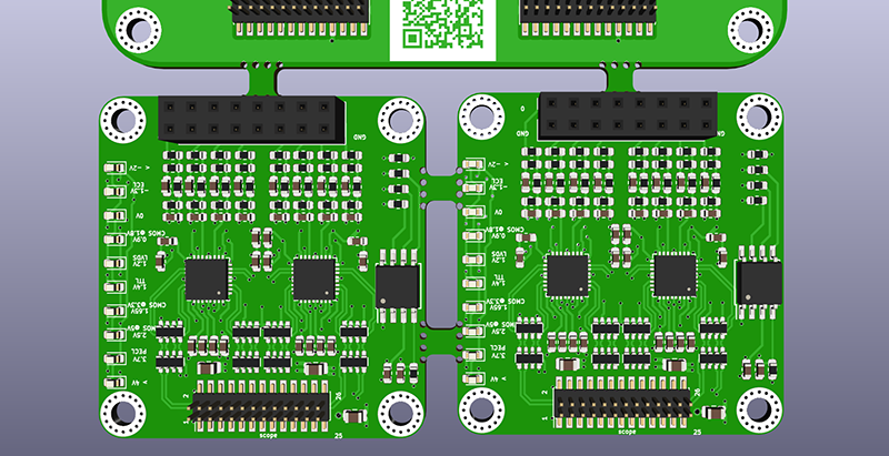 Panelizing Boards In Kicad Printed Circuit Boards Hobby Electronics Tool Design