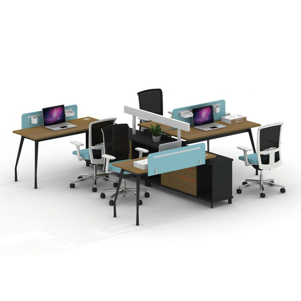 office workstations desks. Greatest Four Position Office Workstation Desk UL Certification Workstations Desks S