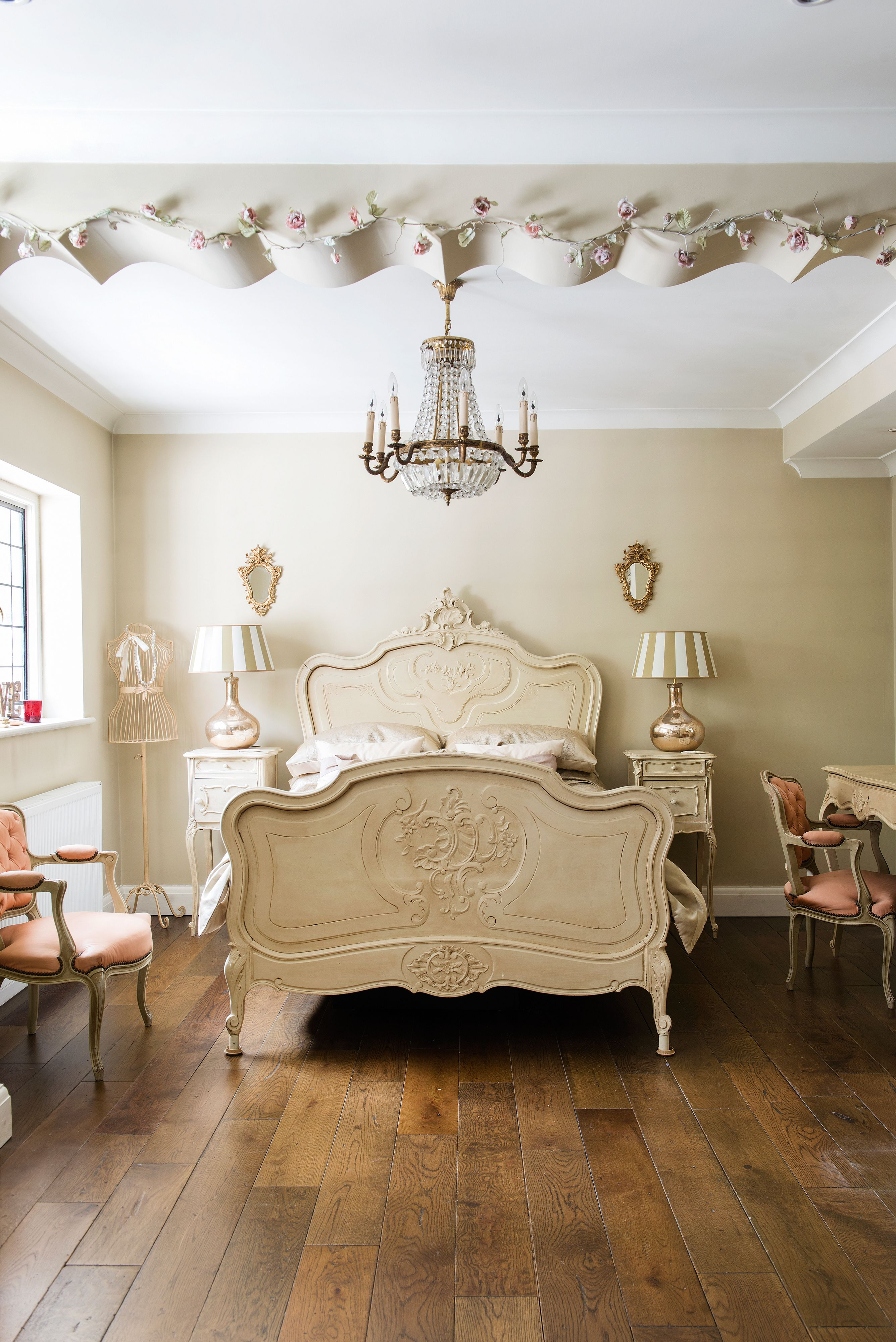 French bedroom ideas  French style bedroom, French style bed