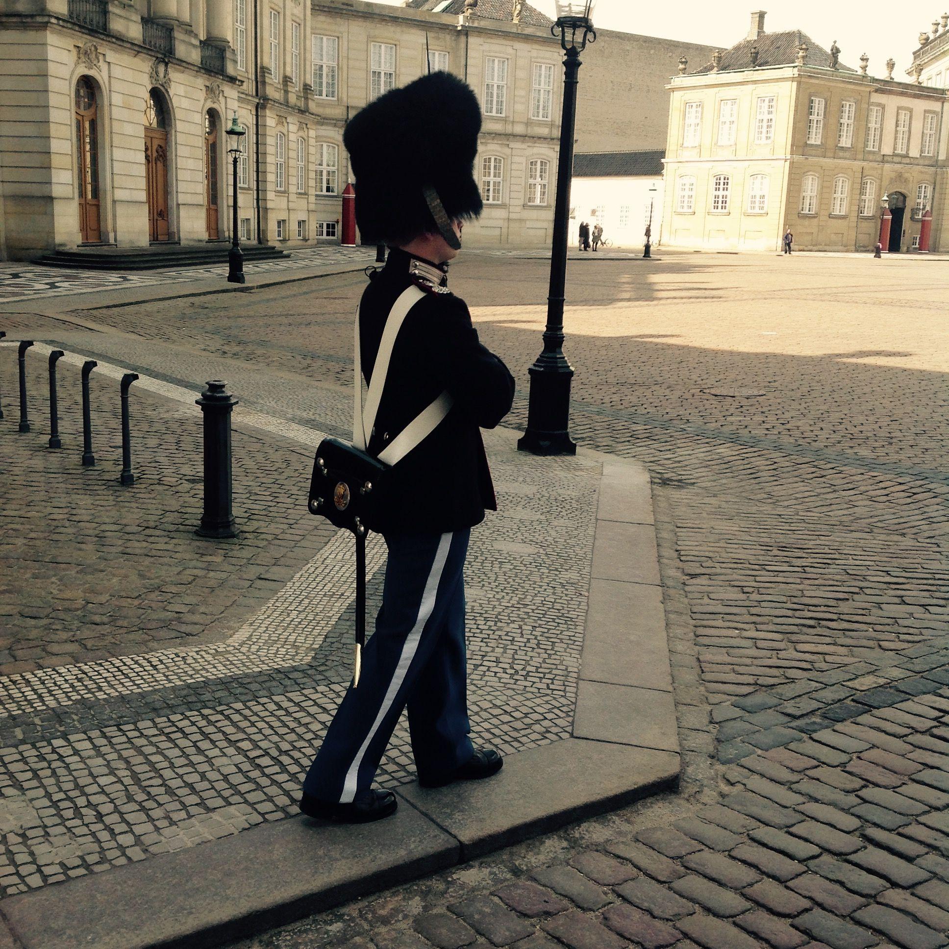 Royal Life Guard. Copenhagen, Denmark.