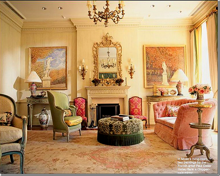 Living Room Not A Color Scheme I Usually Fall For But It Is Perfect In This Room Small Living Room Decor Elegant Living Room Classic Interior