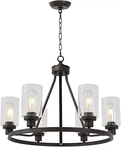 Amazon Com Farmhouse Kitchen Lights Ceiling Hanging Over Island Oil Rubbed Bronze Light Fixtures Hanging Light Fixtures Dining Room Farmhouse Light Fixtures