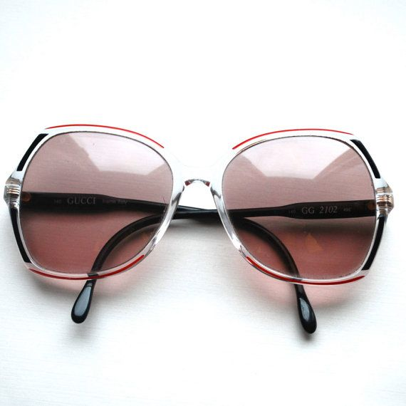 0c433cf09c344 Vintage Gucci Glasses Frames .Your prescription for 1970s classic elegance . GG 2102