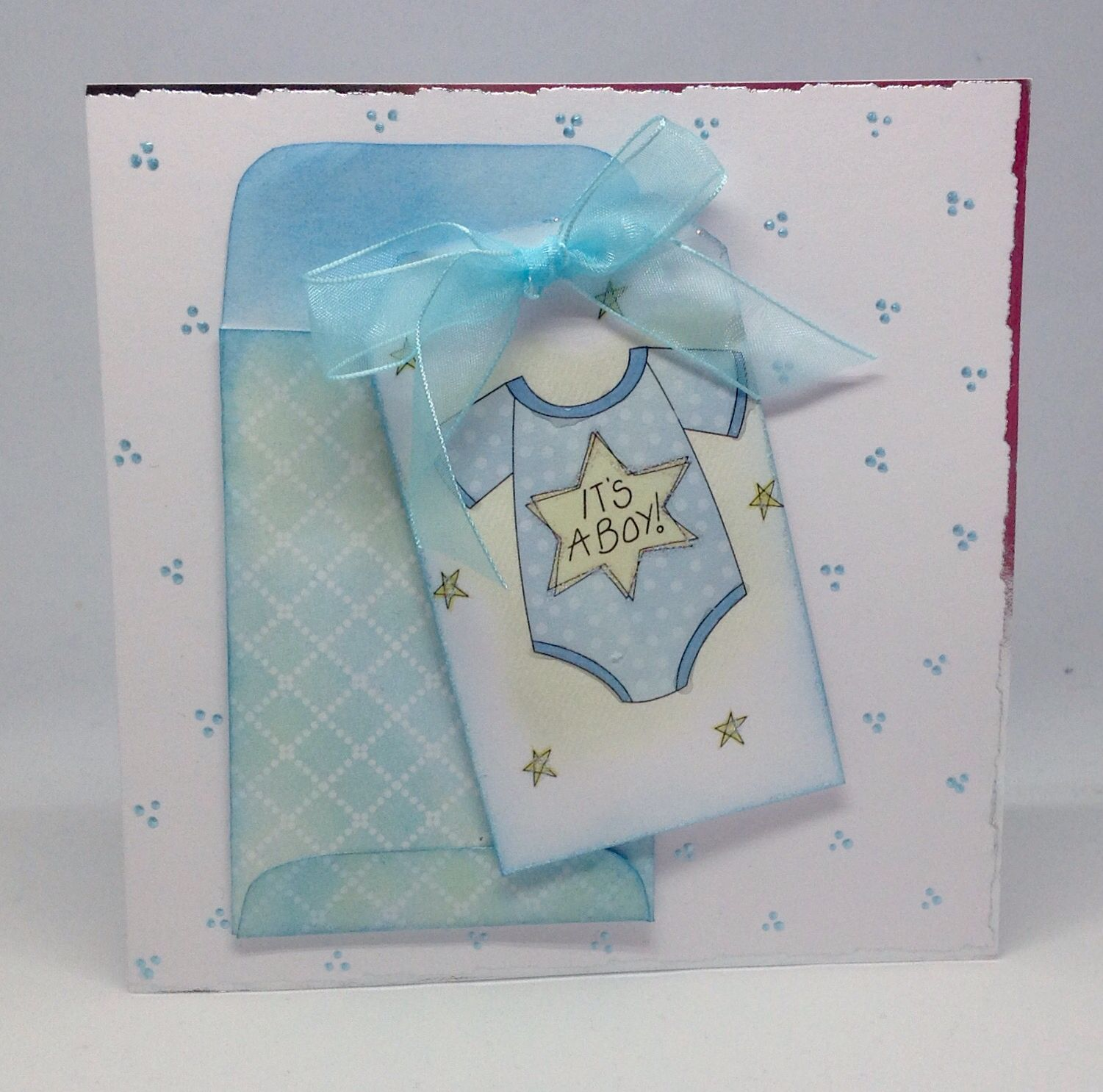 Created Using Sending Thoughts Kit Guilded Edge Card Blanks Mini