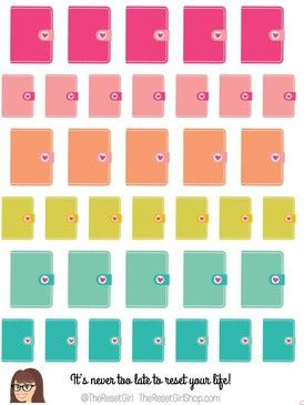 Honey Girl Planner Icons
