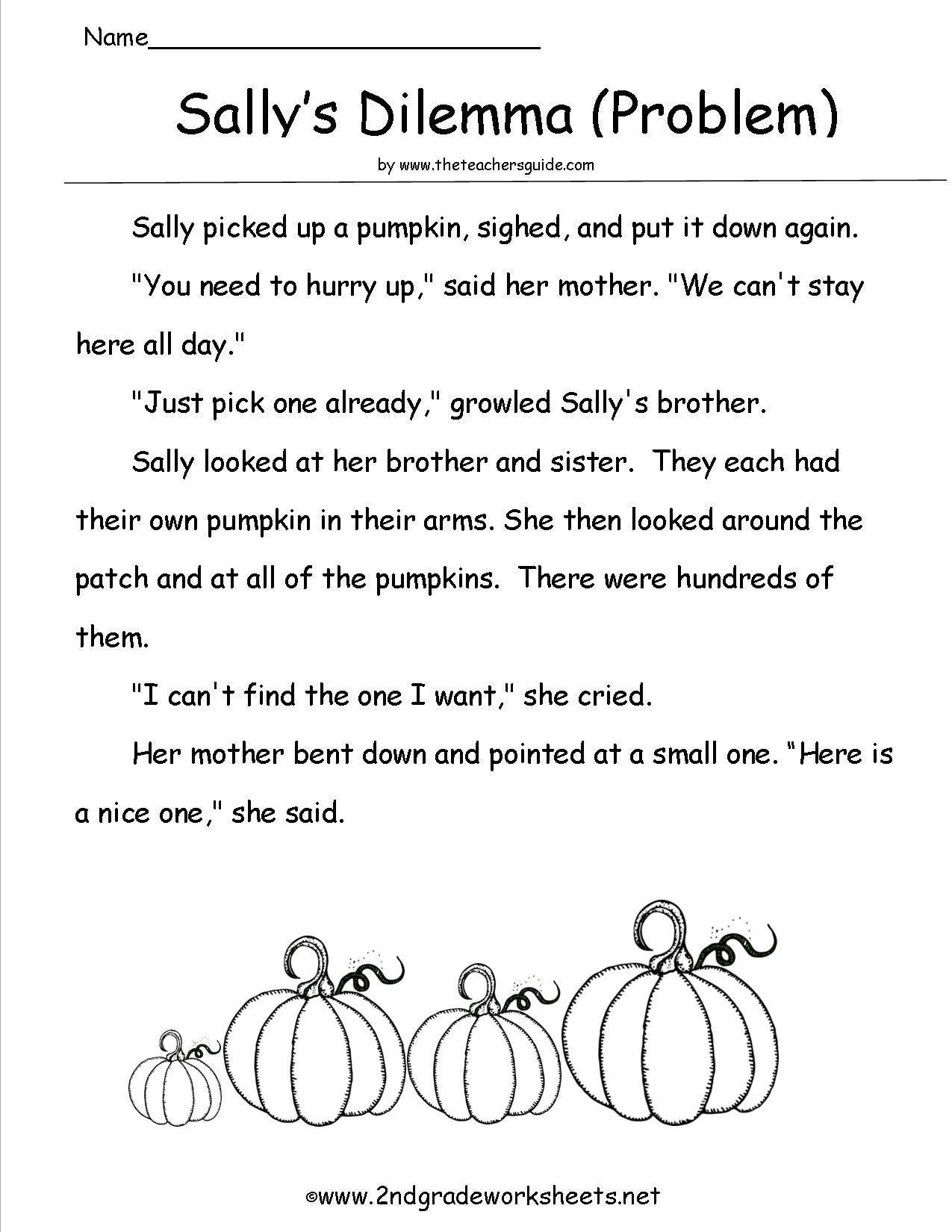 Halloween Worksheets For 2nd Grade Halloween Worksheets