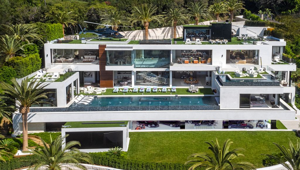 The 10 Most Expensive Houses In The World Bel Air Mansion