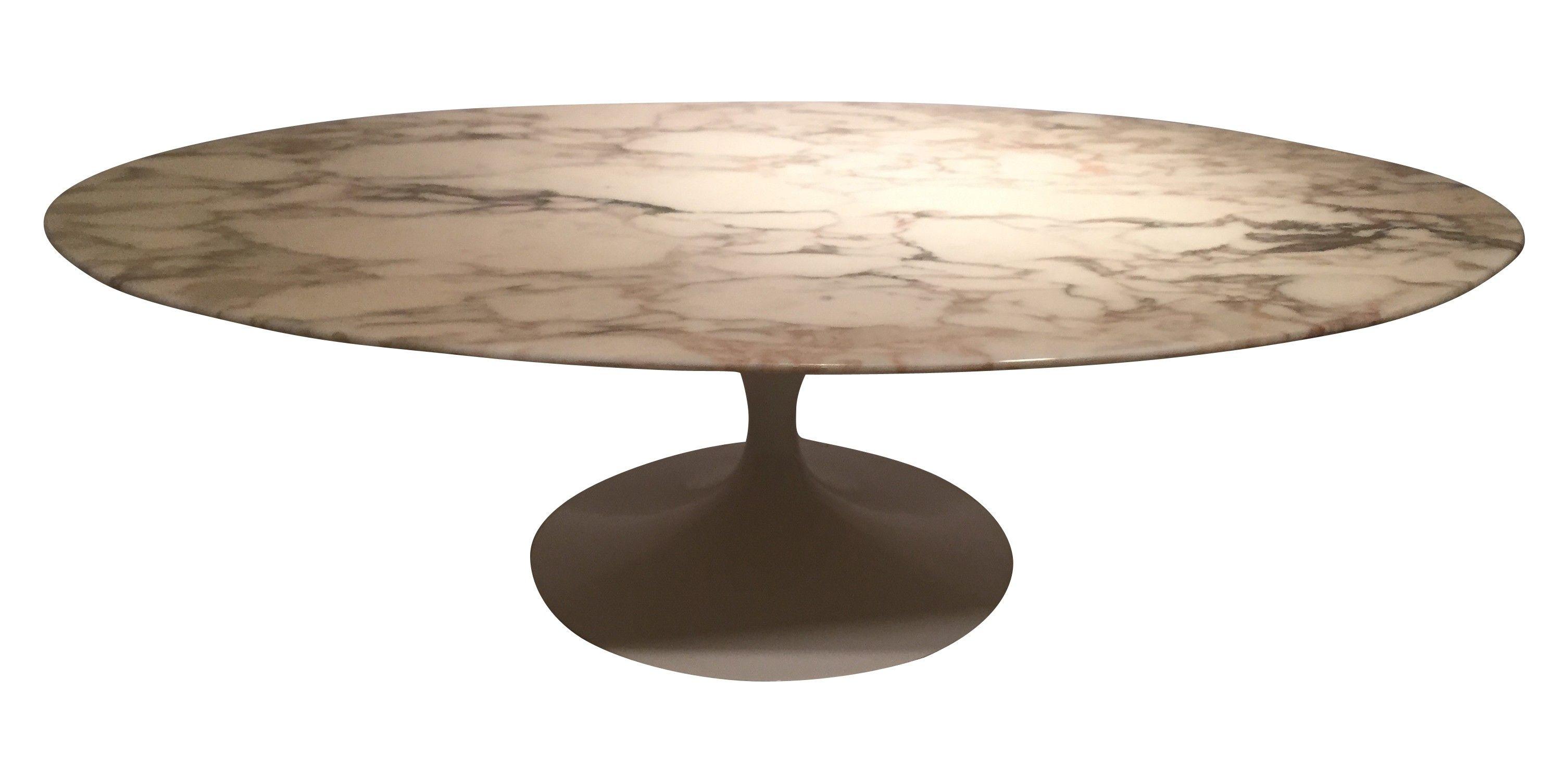 grande table basse ovale par eero saarinen datant des annes 70 edition - Grande Table Ovale