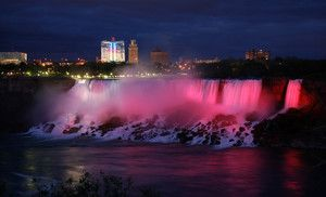 Groupon - One-Night Stay at Four Points by Sheraton Niagara Falls Fallsview Hotel in Niagara Falls, ON in Niagara Falls, ON. Groupon deal price: $105.00