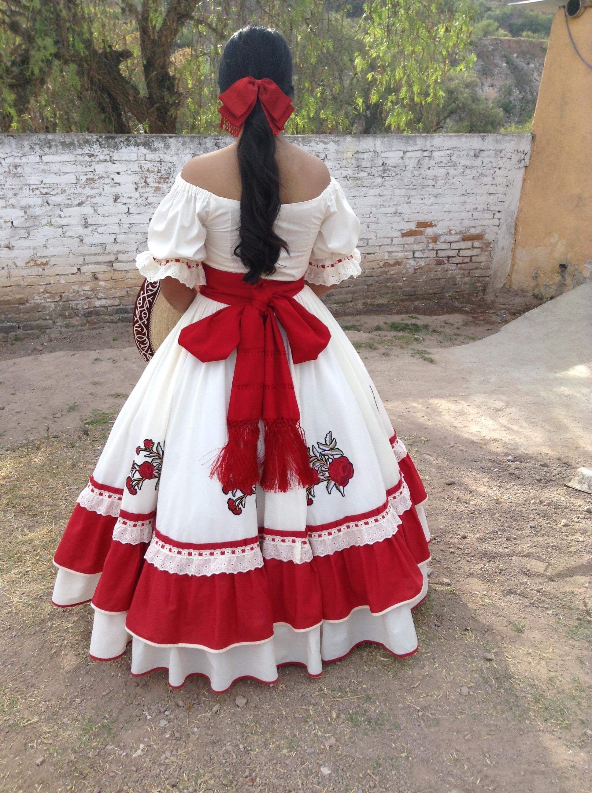 Vestido Mexicano Vestido Folclórico Vestido Regional