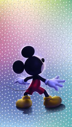 Обои iPhone wallpapers Mickey Mouse Wallpaper do mickey