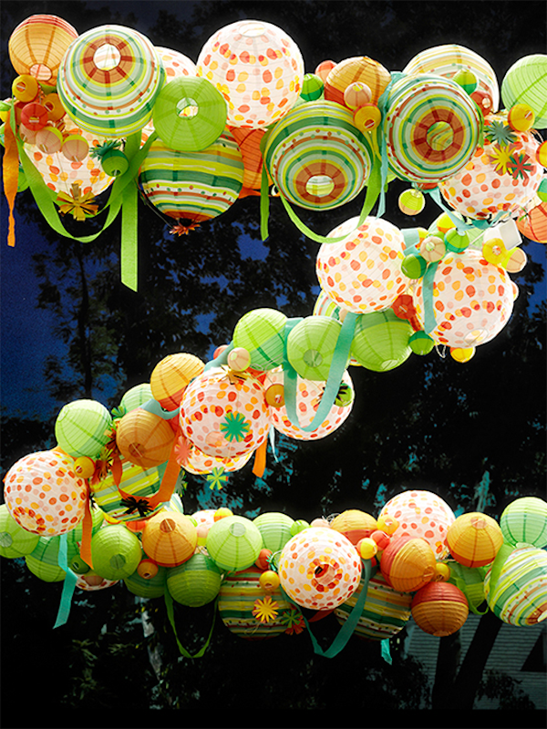 A Fun, Creative A-Z Made Of Balloons, Paper Cups & Other Party Supplies - DesignTAXI.com