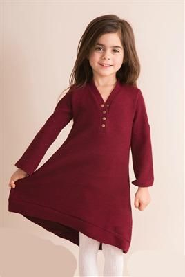 Simply Noelle Girl's Thermal And Louise Dress/Tunic