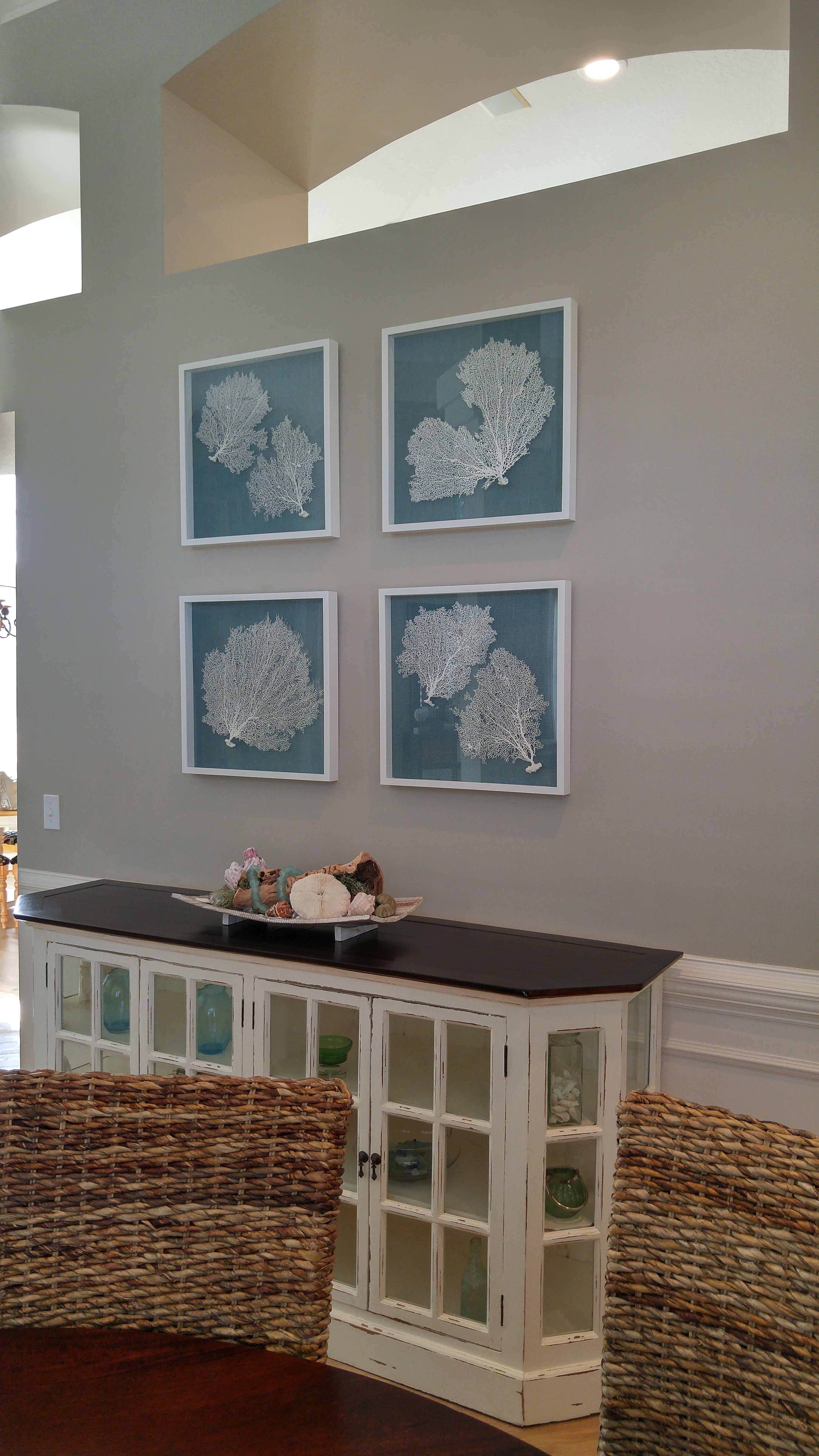 Sea Fan Artwork by Sherrie Bacon Culpepper owner/artist Conversation Piece Studio-Atlanta Ga.