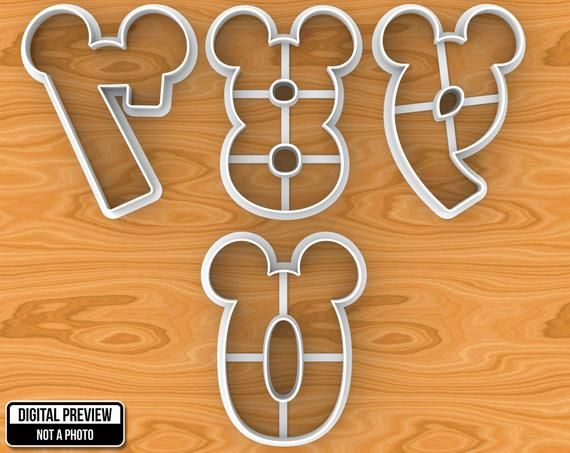 Mickey Minnie Mouse Número 1 2 3 5 6 7 7 9 0 Uno Dos Tres Etsy Minnie Y Mickey Mouse Mickey Minnie Mouse