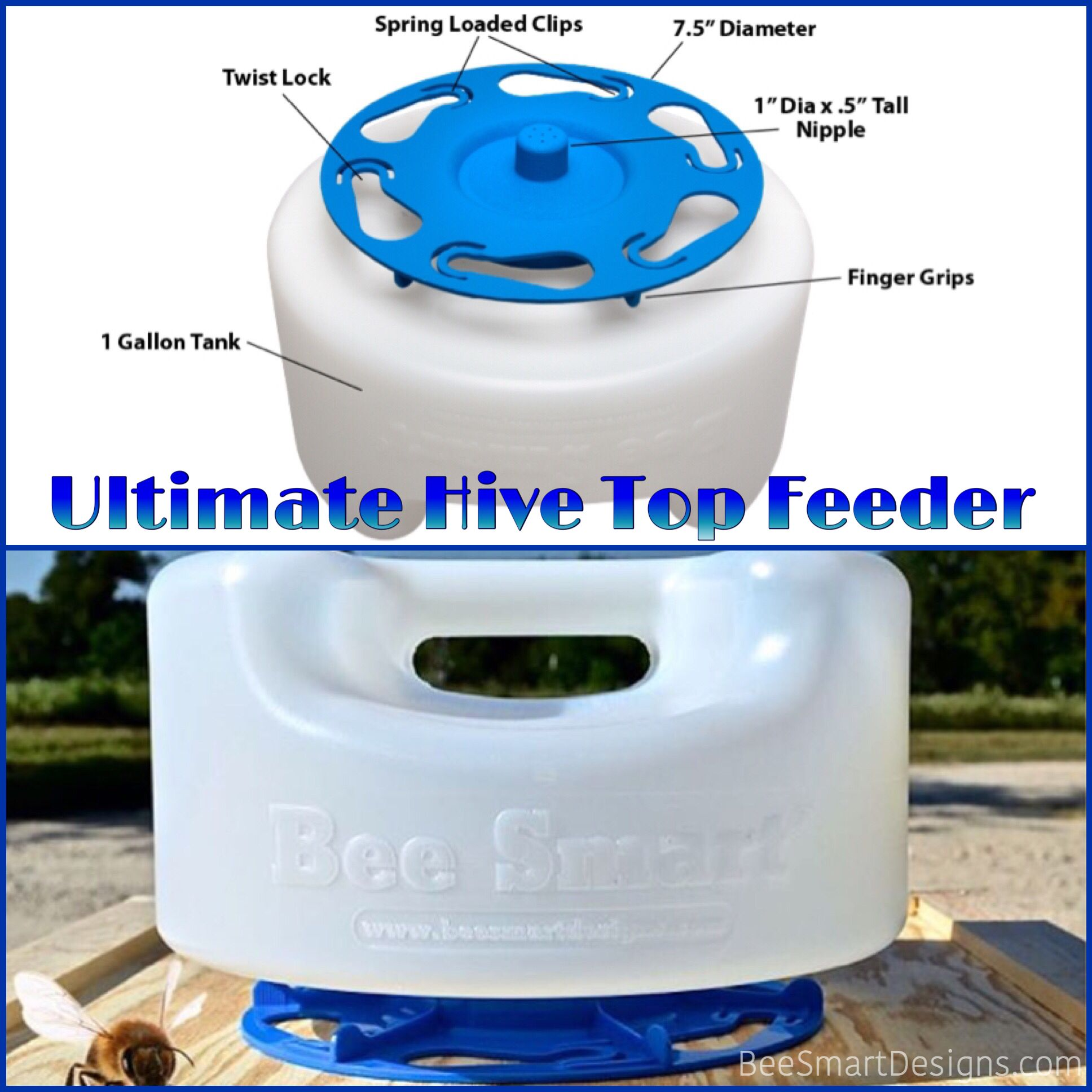 Find out why our Ultimate Hive Top Feeder is better than