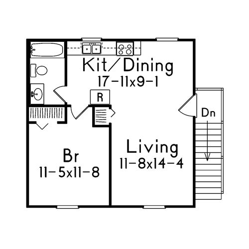 Convert Garage To Apartment Plans | ... On The Image Of The City Side