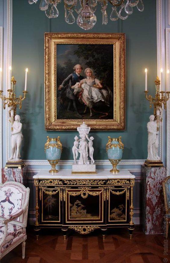 Louvre Interior Details 18th Century Paris France French Decor Elegant Interiors Interior