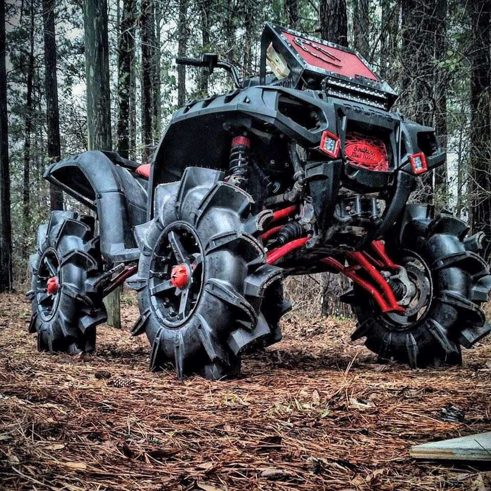Demon Quad Atv Quads 4 Wheeler Big Trucks