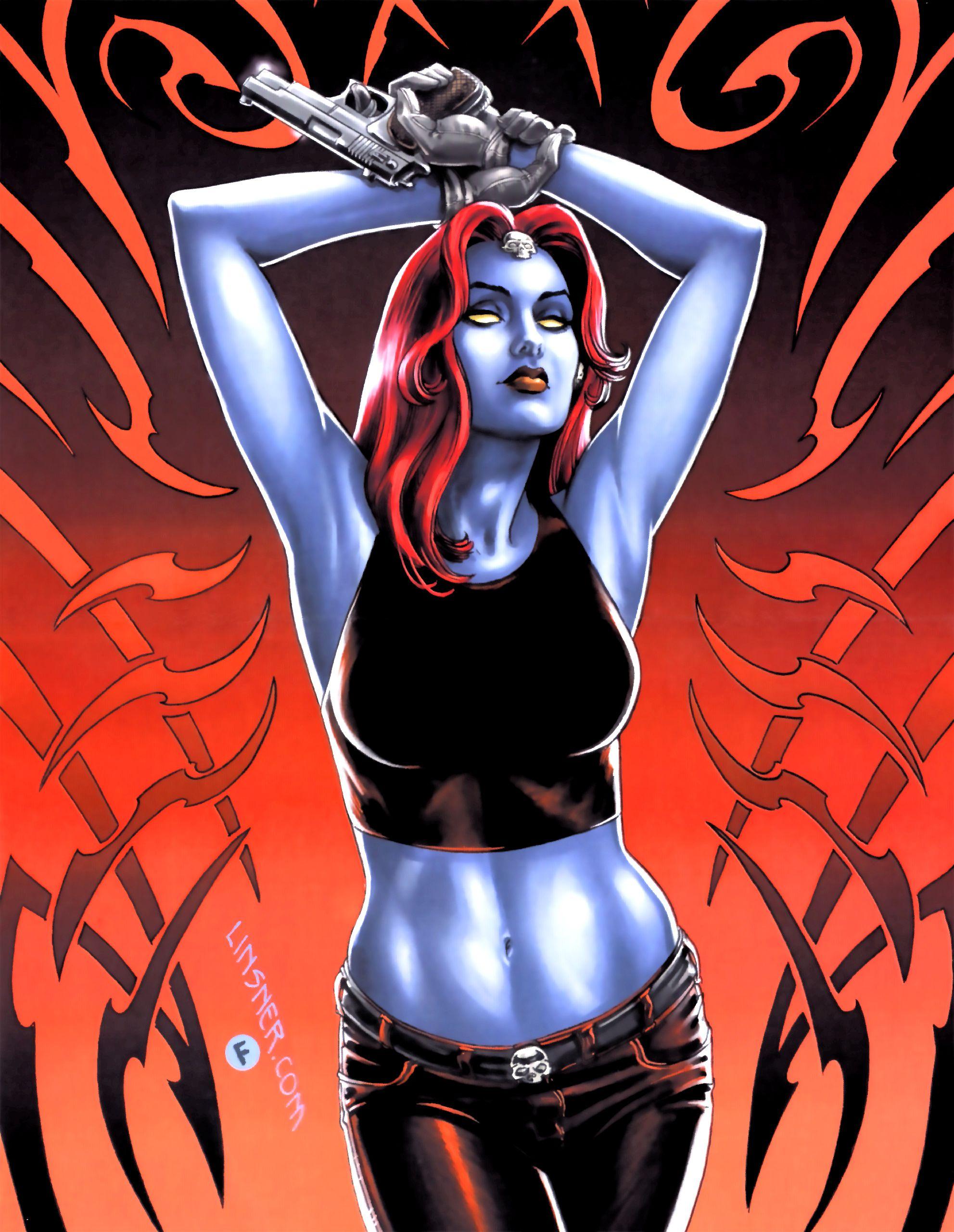 Erotic comic fiction x men mystique