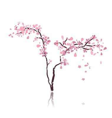 minimalist art cherry blossom - Google Search   Card ...