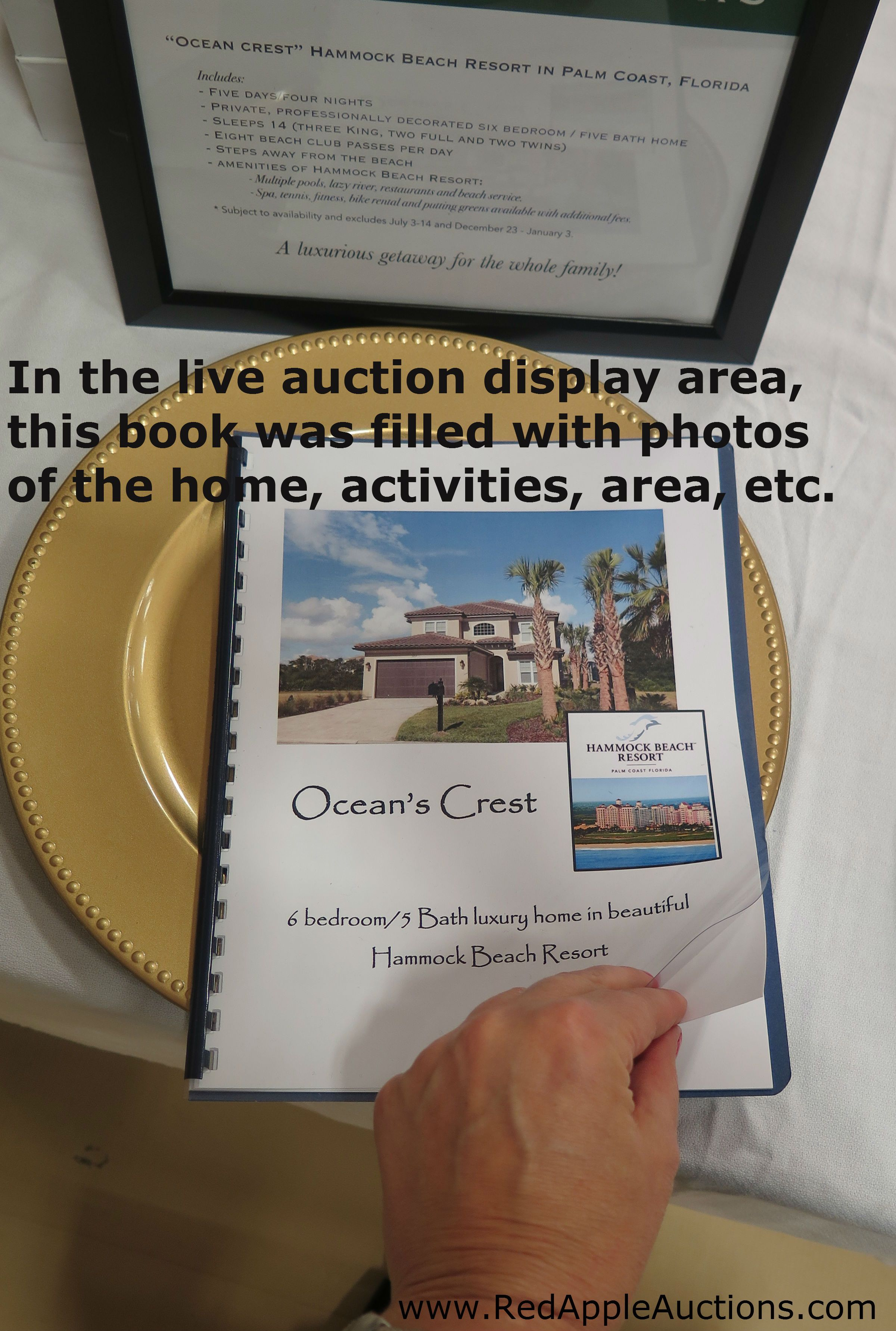 This Was A Live Auction Display Though The Idea Would